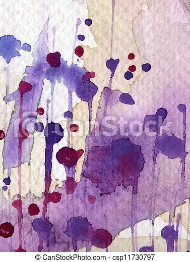 painted watercolor background - csp11730797