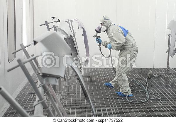 Painter - csp11737522