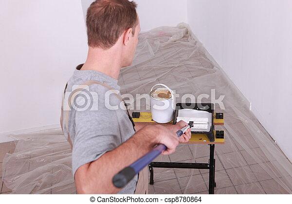 Painter - csp8780864