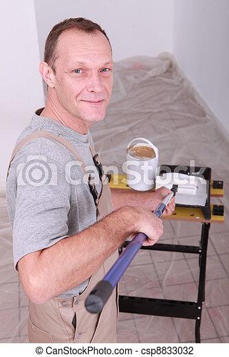 Painter - csp8833032
