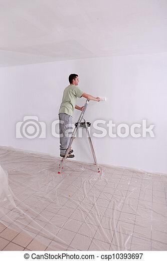 Painter - csp10393697