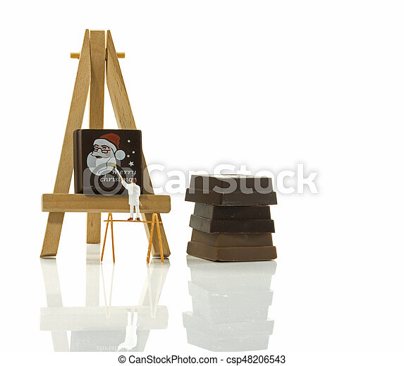 painters ready for christmas - csp48206543