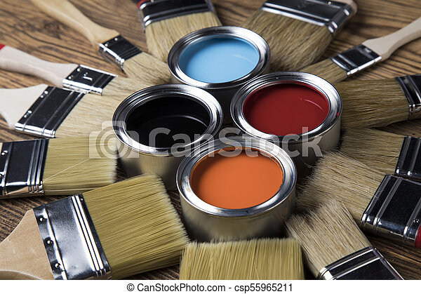 Painting tools and accessories - csp55965211