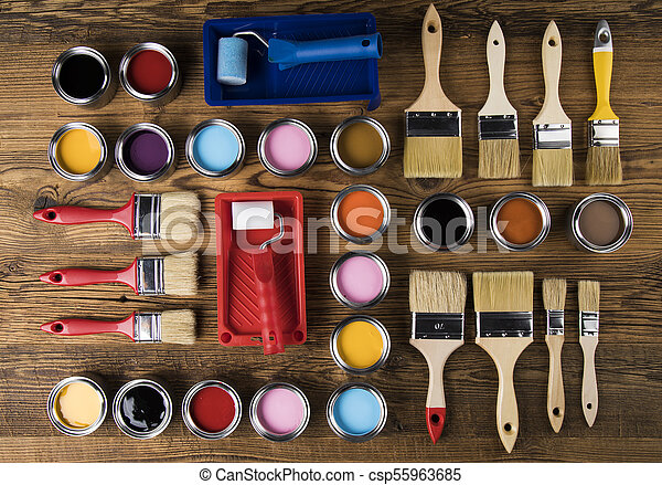 Painting tools and accessories - csp55963685