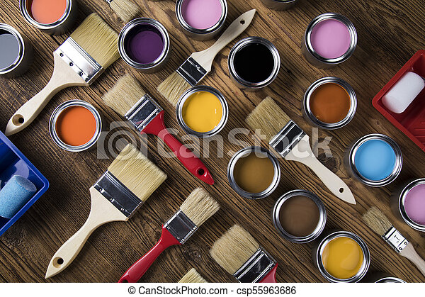 Painting tools and accessories - csp55963686