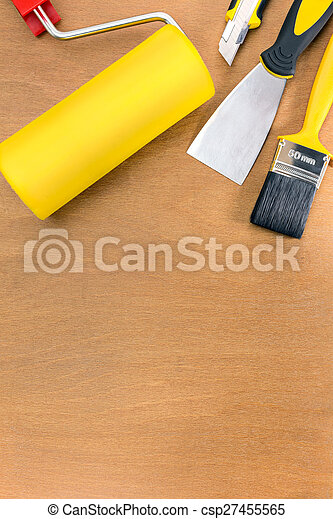painting tools and accessories - csp27455565