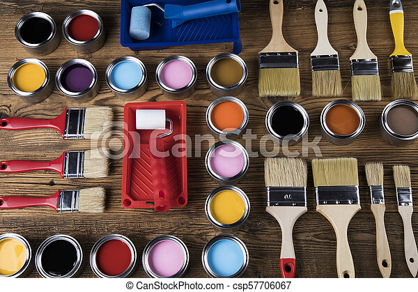 Painting tools and accessories - csp57706067