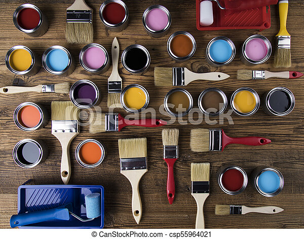 Painting tools and accessories - csp55964021