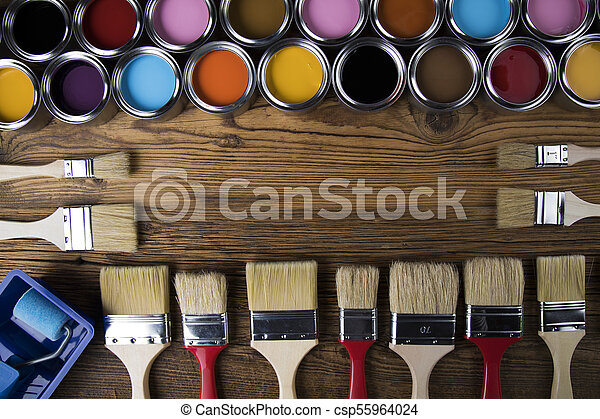 Painting tools and accessories - csp55964024