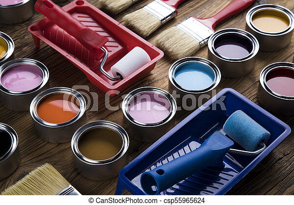 Painting tools and accessories - csp55965624