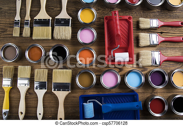 Painting tools and accessories - csp57706128