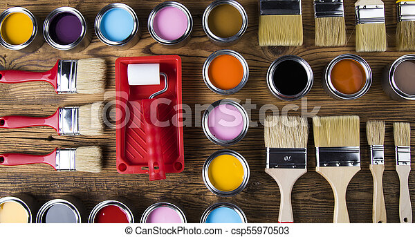 Painting tools and accessories - csp55970503
