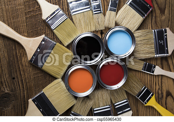 Painting tools and accessories - csp55965430