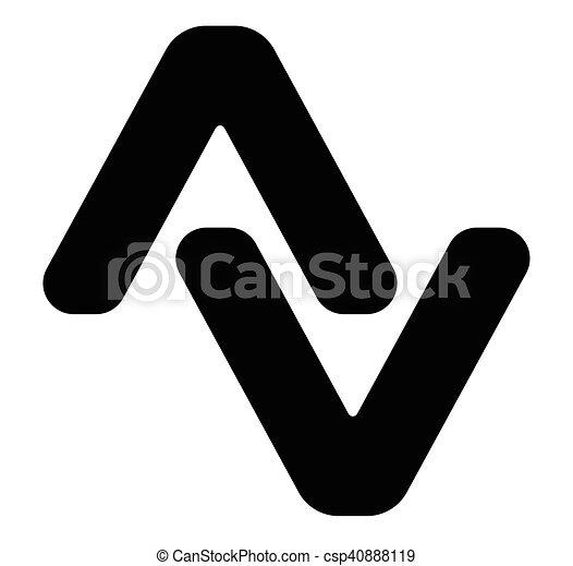 Pair Of Arrowheads Arrow Logo Arrow Icon With 2 Arrows