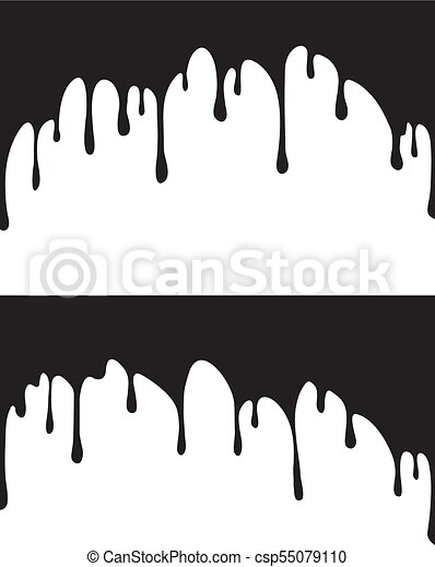 pair of black paint drips vector illustration for your design rh canstockphoto com vector despicable me vector disease definition