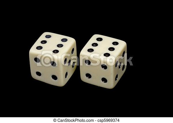 Pair of dice - csp5969374