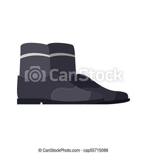 Pair of elegant shoes icon - csp55715086