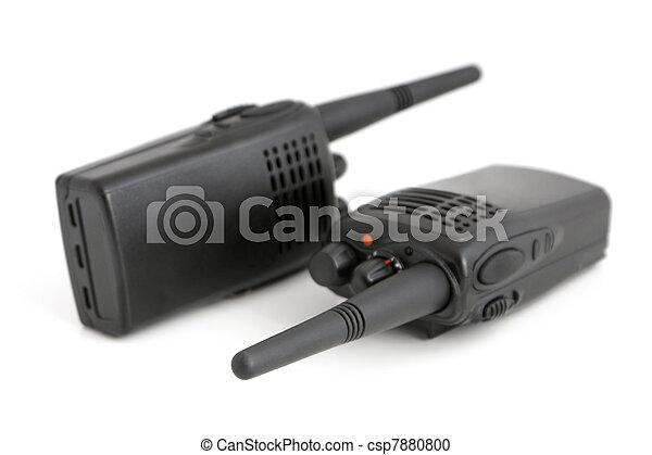 Pair of portable radio sets - csp7880800
