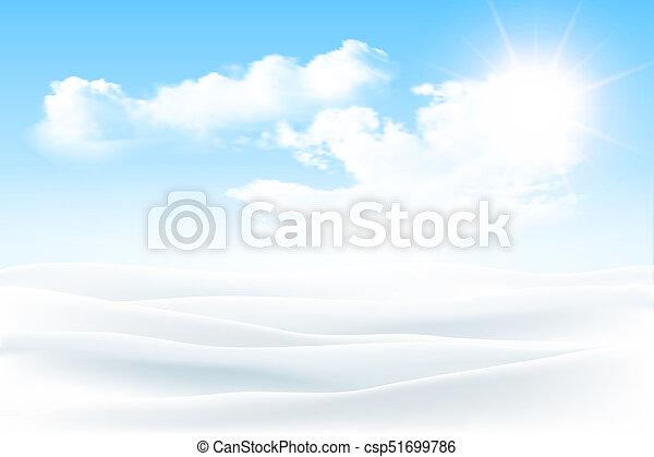 paisagem inverno - csp51699786