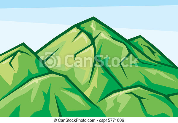 paisagem montanha - csp15771806