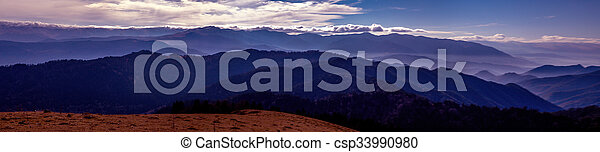 paisagem montanha - csp33990980