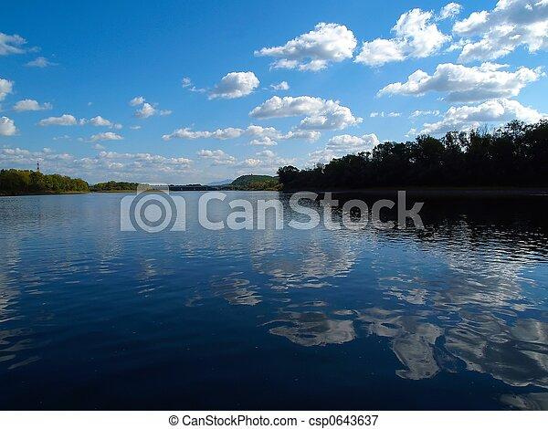 paisagem rio - csp0643637