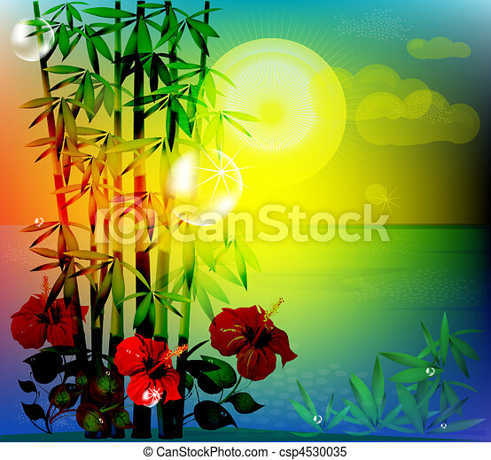 paisagem tropical - csp4530035