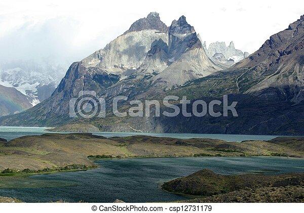 Landscape en chile - csp12731179
