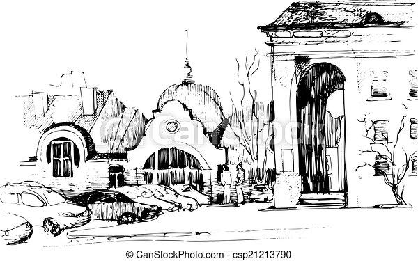 El paisaje de la ciudad - csp21213790