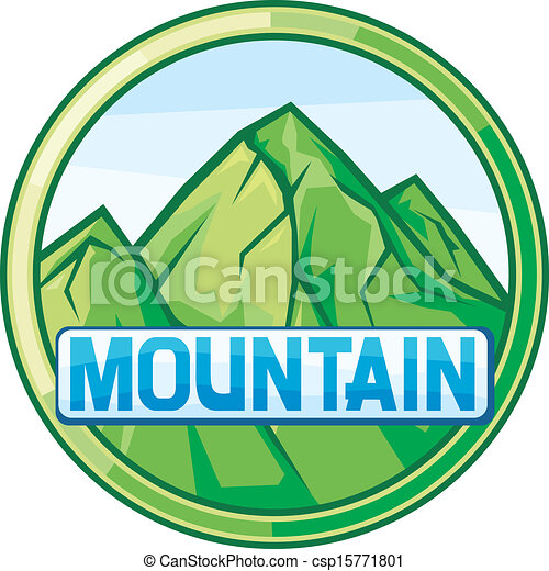 Un paisaje de montaña - csp15771801