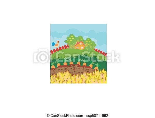 Paisaje rural - csp50711962