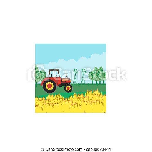 Paisaje rural - csp39823444