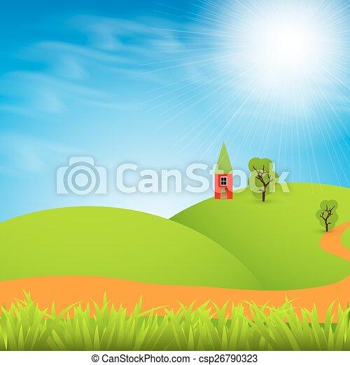 Paisaje rural - csp26790323