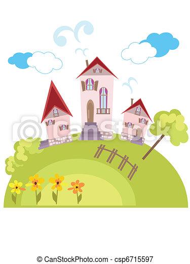 Paisaje rural - csp6715597