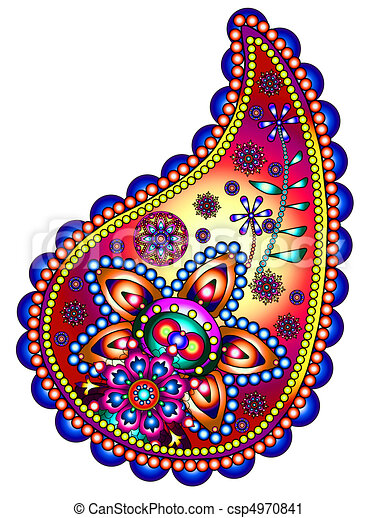 paisley clipart search illustration drawings and vector