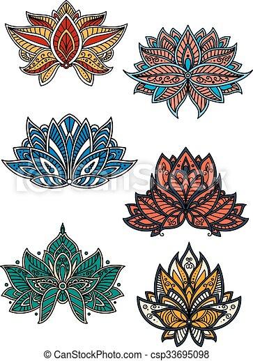 Paisley Flores Oriental Arabescos Coloridos Textil