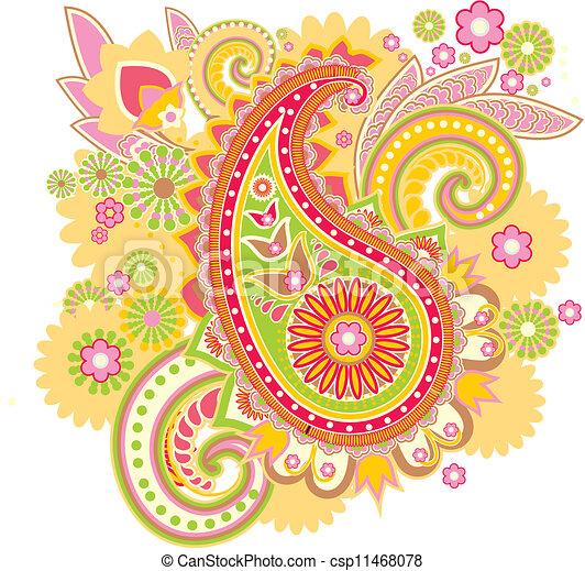 Paisley - csp11468078