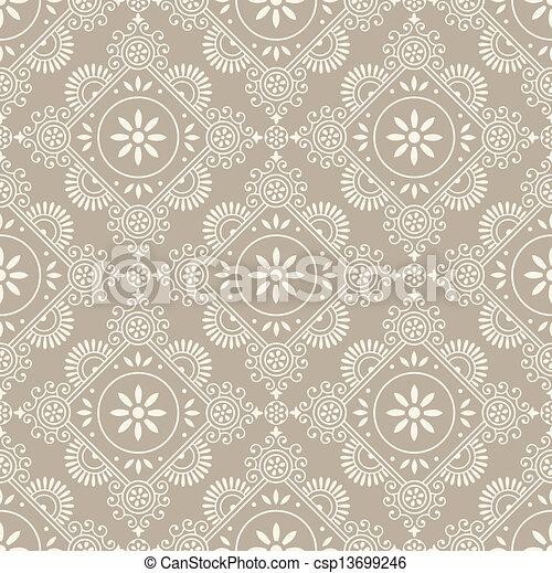 Paisley seamless pattern - csp13699246