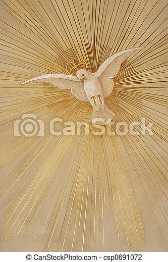 paix, colombe - csp0691072