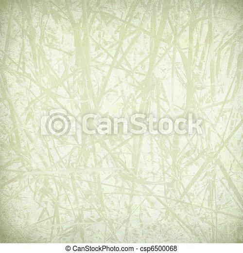 La huella de paja en papel - csp6500068