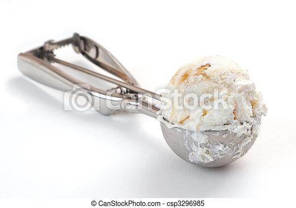 pala, helado - csp3296985
