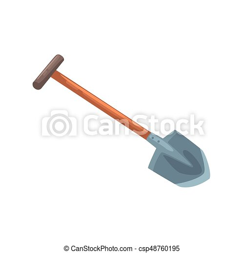 Pala herramienta del jard n ilustraci n vector for Todo jardin herramientas