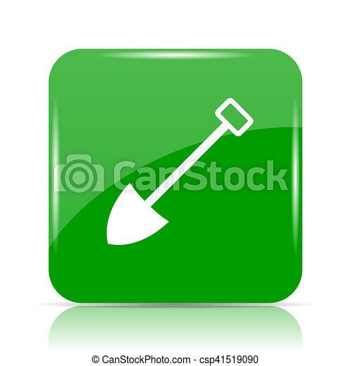 icono de pala - csp41519090