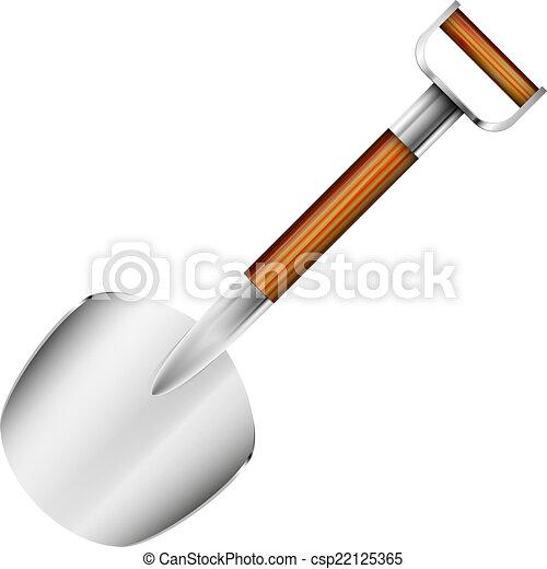 Una pala pequeña - csp22125365