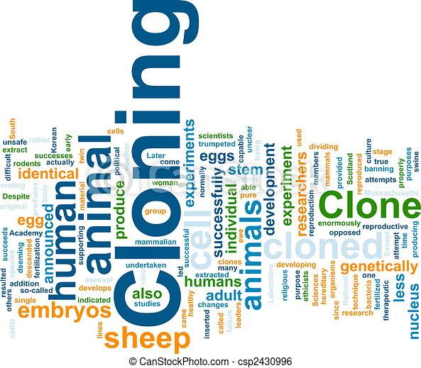 Nube de Clonación - csp2430996