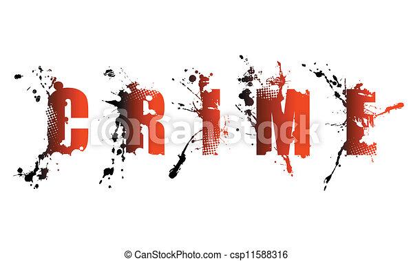 Palabra de crimen - csp11588316