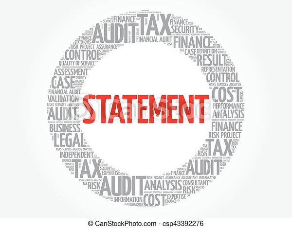 Nube de palabra de declaración - csp43392276