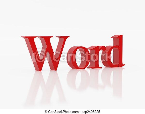 palabra - csp2406225