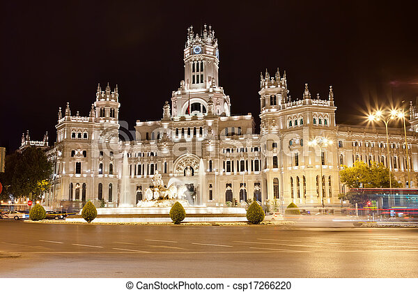 Palace in Madrid - csp17266220