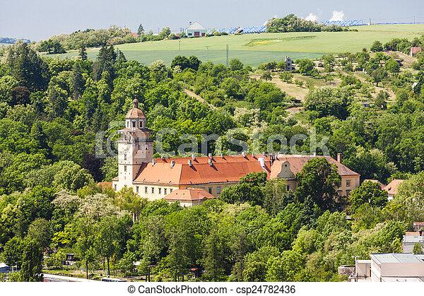 Palace of Moravsky Krumlov, Czech Republic - csp24782436